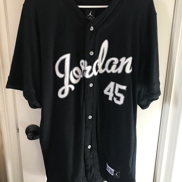 bd8acc097ea Jordan Shirts | Air Xi Baron Baseball Jersey Large | Poshmark